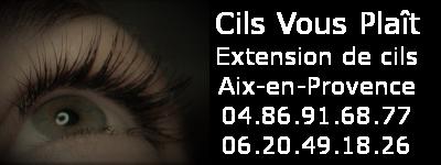 Extensions de cils à Aix en Provence